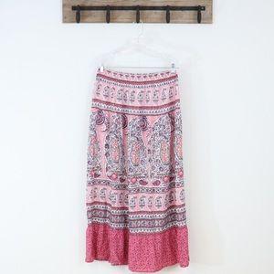 Liz Claiborne Skirts - Liz Claiborne maxi skirt floral boho print